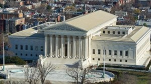 A-view-of-the-U.S.-Supreme-Court-seen-from-the-top-of-the-U.S.-Capitol-dome-AFP