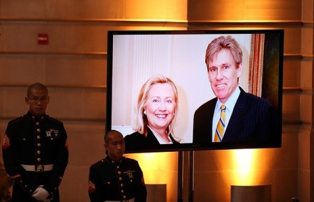 Memorial Service Held For U.S. Ambassador Christopher Stevens Killed In Libya