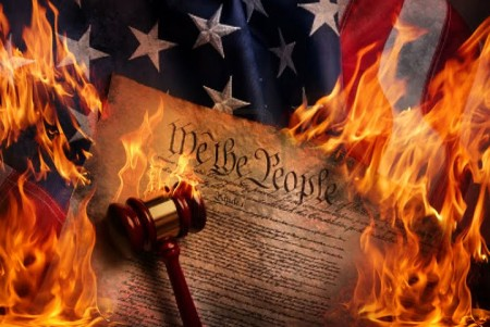 constitution-on-fire