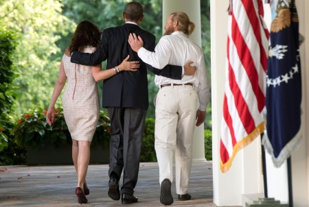 President Barack Obama Gives a Statement Regarding The Release of Sgt. Bowe Bergdahl by The Taliban
